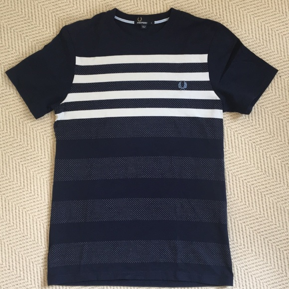 b11b518bfa8 Fred Perry Other - Fred Perry Men s Navy Stripe Short Sleeve T-Shirt